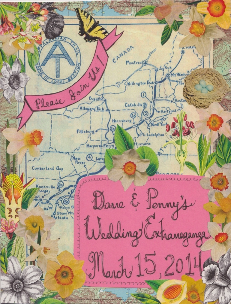 Spring Wedding Invite