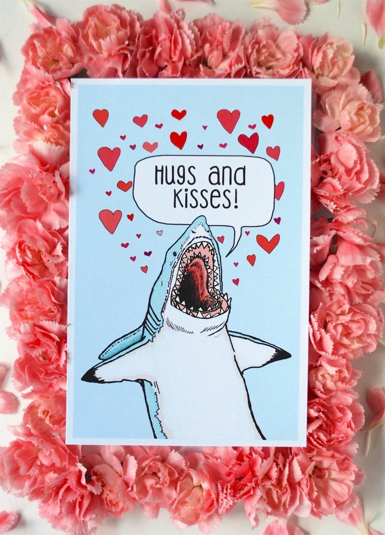 Hugs and Kisses flowers Edited